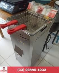 Fritadeira industrial elétrica 18 litros