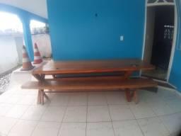 Vendo mesa semi-nova 3 metros por 80
