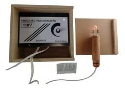 Pirógrafo Profissional para Artesanato em Madeira - 110V