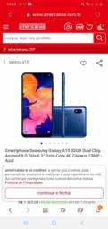 Samsung a10 azul (USADO)