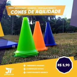 Cones Agilidade - Kit Treino Funcional