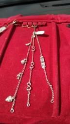 Corrente de prata infantil prata 925. Não e banhada e prata mesmo
