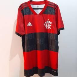 Camisa do Flamengo I Uniforme Masculino 2021/22