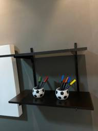 Kit prateleiras com suporte 60x25cm (com suportes) PROMOÇÃO