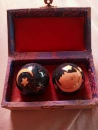 Antiguidade bolas de meditacao zen