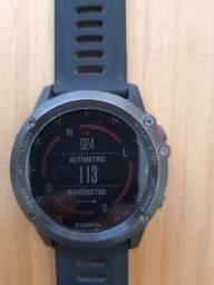 Relógio garmin fênix 3 GPS + sensores cadência e velocidade