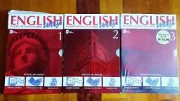 Curso de Ingles em DVD em 3 Volumes