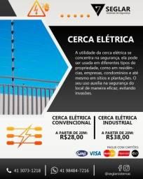 Cerca Eletrica - 04 isoladores Industrial