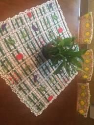 Conjunto cozinha 12 peças - crochê