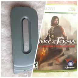 Case HD xbox 360 fat SEM memória ( arcade) + Jogo Original Prince Of Persia Xbox 360