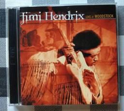 Título do anúncio: Cd Jimi Hendrix - Live at Woodstock (Importado / Duplo)
