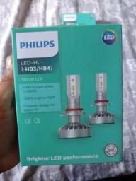 Lâmpada led. HB3/.  HB4 Philips, nova lacrada