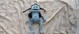 Bicho de pelúcia Sapo Crazy Frog 54cm.
