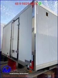 Título do anúncio: carroceria termica 3.40m nova a pronta entrega Mathias implementos