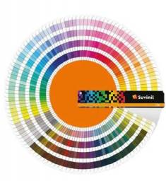 Leque de cores Suvinil 2021 valor 150,00