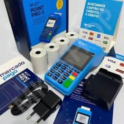 Máquineta de cartão do mercado pago
