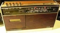 Rádio Philips RR332 Vintage Raridade Excelente Estado Estudo Proposta