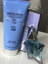 Kit Perfume + Creme Hidratante Brand Collection Nº168 (Angel)