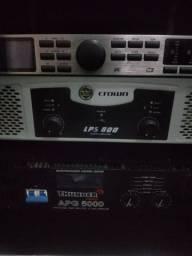 Amplificador CROWN de 600w