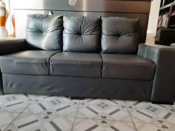 Vendo sofá de couro