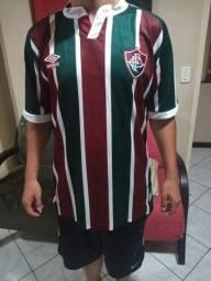 Camisa tricolor do Fluminense 2021