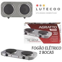 FOGÃO ELÉTRICO 2 BOCAS