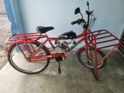 Bike Motorizada de Cargo Semi Nova ( OPORTUNIDADE )