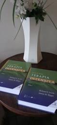 Livro de Medicina- TERAPIA INTENSIVA - 2 volumes.  Com CD rom.