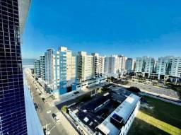 Na Praça da Marina, apto de frente, 11º andar, 2 dorm, vista para a Praça e mar