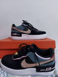 Nike Air Force 1 Shadow Women's Shoe Size 6 (Black)