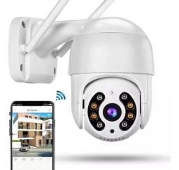 Câmera Segurança IP WiFi Visão Noturna Monitoramento Inteligente Via Smartphone Celular 4g