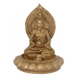 Incensário Buda 14cm De Resina