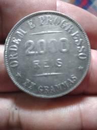 Moeda 2000 reis de 1911