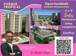 Título do anúncio: Patamares , 2 vagas , 113m² , Parque Tropical , 3 suítes , Varanda Gourmet