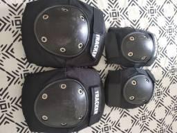 Kit proteção para skate e patins