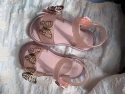 Sandália Mini Melissa tamanho 21
