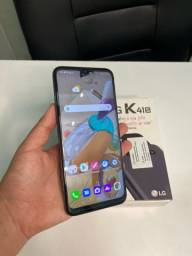 LG k41s com caixa e carregador