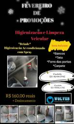 Higienizacão Veicular