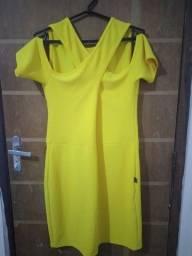 Título do anúncio: Vestido amarelo (Plus)