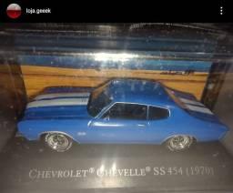 Miniatura chevrolet Chevelle SS 454 (1970) + fascículo