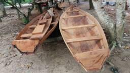 canoa de 5mt e de 4mt