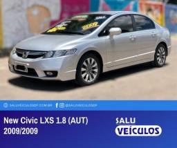 New Civic 1.8 LXS (aut), bancos em couro, baixa KM