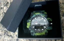Relógio Shock Analógico e Digital à prova de água.