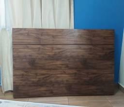 Cabeceira de cama cor Embuia