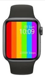 Relógio Smartwatch w66 Faz e recebe ligações