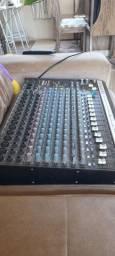 Mesa de som wattsom 16 canais