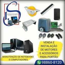 I.S Assistência Dos Notebook Motor Portão acessórios