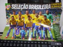 Pôster Seleção Brasileira Campeã Olímpica