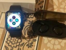 smartwatch w16 e fone sem fio y30