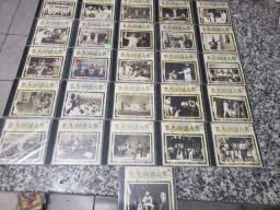 Cds coleção Os Grandes Samba da História